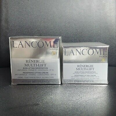 Lancome Renergie Multi-Lift Day Cream SPF 15 30mL + 75mL NEW + SEALED • 66£