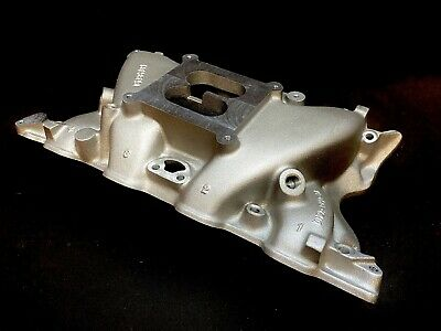 AU830.89 • Buy Blue Thunder Ford 351 Cleveland 4 Barrel Intake Manifold *With Casting Numbers*