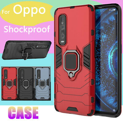 AU8.79 • Buy For OPPO A15 A53s A53 Find X2 Lite Neo Pro Heavy Duty Shockproof Case Ring Cover