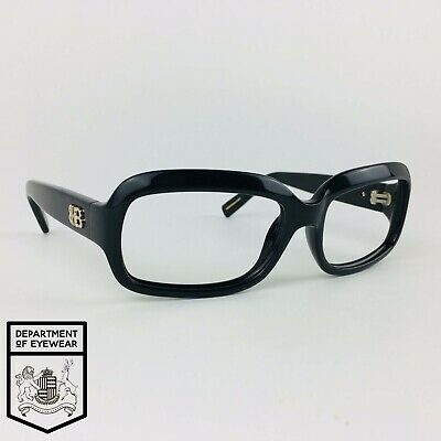 HUGO BOSS Eyeglasses BLACK RECTANGLE Glasses Frame MOD: BOSS 0026/S 807Y1 • 35£