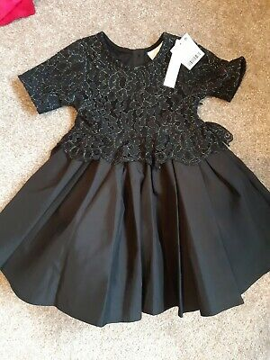 £15 • Buy Girls Next Signature Black Party/prom Dress Age 12-18 Months Bnwt