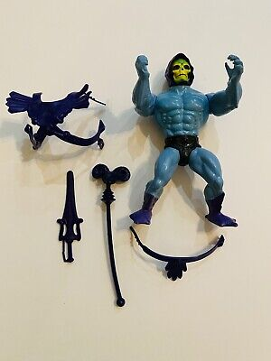 $59.99 • Buy 1984 Masters Of The Universe MOTU Skeletor Mexico Figure W/ 1981 Weapons & Armor