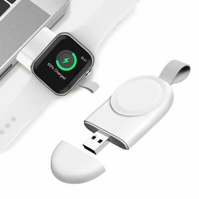 $ CDN7.35 • Buy For Apple Watch Series 5/4/3/2/1 IWatch Portable USB Wireless Charger Keychain