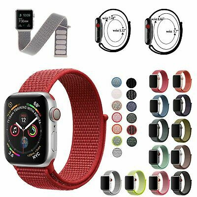 $ CDN5.66 • Buy Sport Nylon Woven Loop Bracelet Watch Band Strap For Apple IWatch Series 6 5 4 3