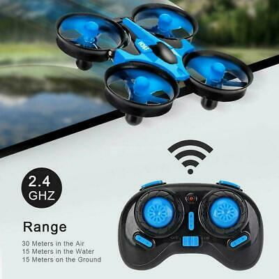 AU43.99 • Buy JJRC H36F TERZETTO 3 In1 RC Drone Boat Car Quadcopter SET Mode Air Water U7Q1