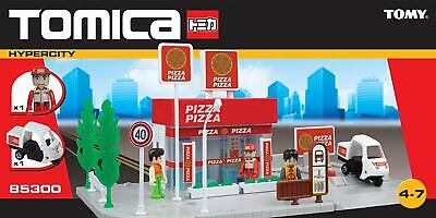 Tomy Tomica Hypercity Pizza Takeaway Shop Ref 85300 - Brand New! • 24.95£