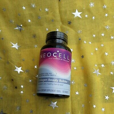 $14.99 • Buy NeoCell Collagen Type 1&3 Beautiful Builder 150 Tablets