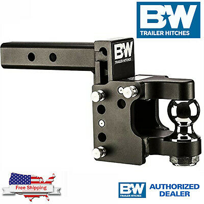 $ CDN379.34 • Buy B&W Tow & Stow Adjustable Drop Pintle Hitch With 2  Ball TS10055