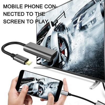AU10.68 • Buy For MHL Android Phone Tablet USB-C Type C To HDMI Adapter 3.1 Cable USB E2N7