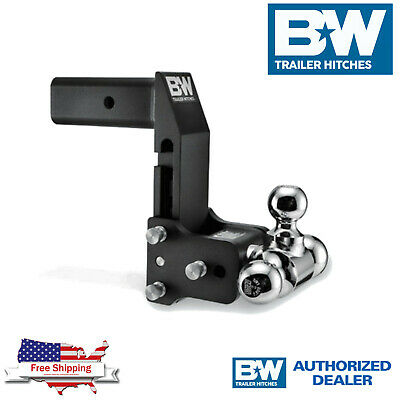 $ CDN442.78 • Buy B&W Tow&Stow 7  Adjustable Tri Ball Hitch 2.5  Shank For GM Multi Pro Tailgate