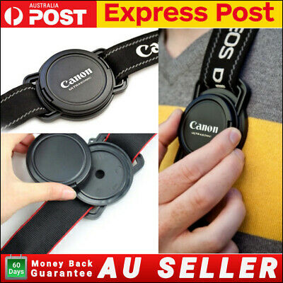 AU6.99 • Buy Lens Cap Buckle Holder Keeper For Canon Sony Nikon DSLR Camera Anti Lost Button