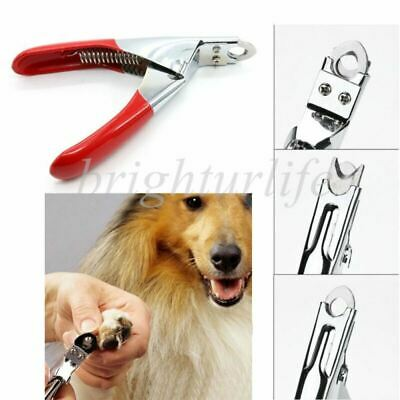 £3.06 • Buy Pet Dog Cat Nail Paw Claw Clippers Scissors Trimmer Rabbit Sheep Animal Grooming