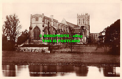 £7.99 • Buy R509645 Christchurch. Priory Church And River. Valentine. RP