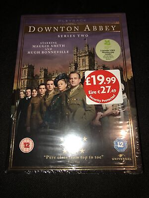 DOWNTOWN ABBEY Series Two 2 DVD NEW REGION 2 2015 • 6.96£