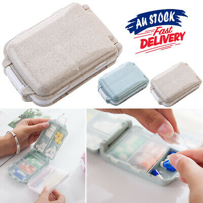 AU9.99 • Buy 7 Days Medicine Tablet  Organiser Pill Box Weekly  Case Boxes Container Storage