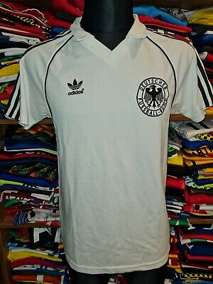 #5 GERMANY RETRO ADIDAS ORIGINALS SHIRT SIZE M DEUTSCHLAND DFB TRIKOT (o374) • 17.99£