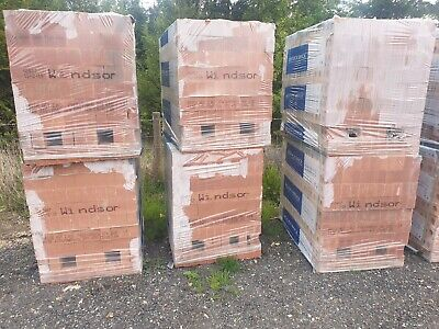 Ibstock Windsor Red Multi Stock Building Bricks 25 Packs Available 475 Bricks Pp • 195£