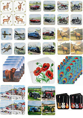 £5.50 • Buy Various Designs Coasters / Table Mats - Drink Mat - Gloss Finished X 4 Coasters