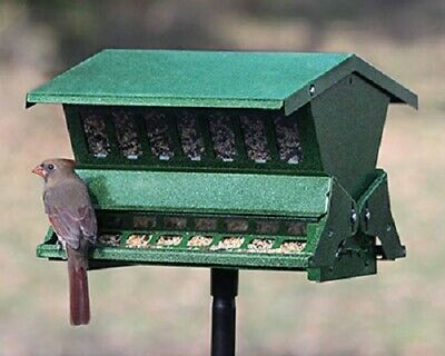 NEW Double Sided Absolute II Bird Feeder With Pole And Hanger Squirrel Proof • 72.39£