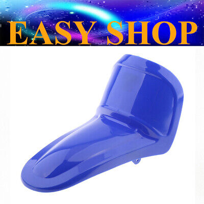 AU23.74 • Buy BLUE Plastic Front Mud Guard Fender Cover For Yamaha PW50 PY50 Y-Zinger PeeWee