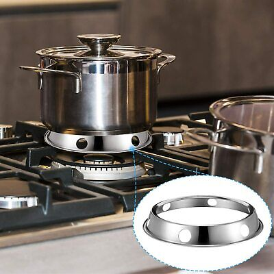 AU16.52 • Buy 2x 10'' X 4cm Wok Ring Support Rack Stand Stainless Steel For Gas Burner Kitchen