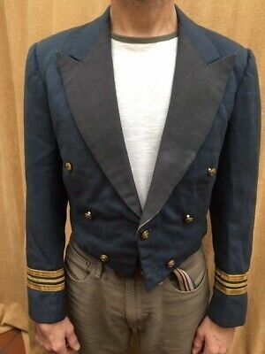 RAF mess Dress Jacket Officer - Size 38 Inch Chest (tailored) - Pre-owned • 30£