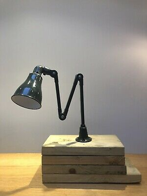 Vintage Industrial Invisaflex Lamp, Machinist Anglepoise Style • 220£