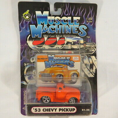 AU6.34 • Buy Muscle Machines '53 Chevy Pickup 01-56 Die Cast Adult Collectible