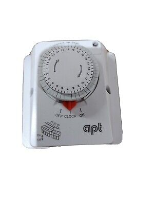 Apt Imm24ec Immersion Boiler Time Clock Timer Switch Heating 24 Hour 16a Economy • 32£