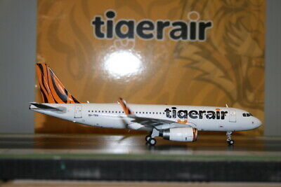 AU168 • Buy JC Wings 1:200 Tiger Airways (Tigerair) Airbus A320-200 9V-TRX (XX2244)