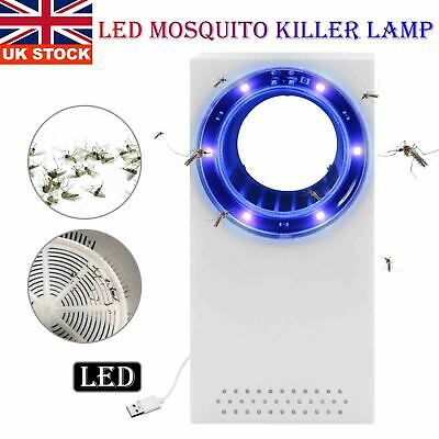 £4.99 • Buy Electric Inhalation Mosquito Lamp Insect Trap Bug Fly Gnat Mosquito Killer Light