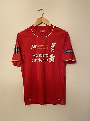 £60 • Buy 2015-16 Liverpool Home Shirt - Small -*Europa League Final Insignia + Patches*