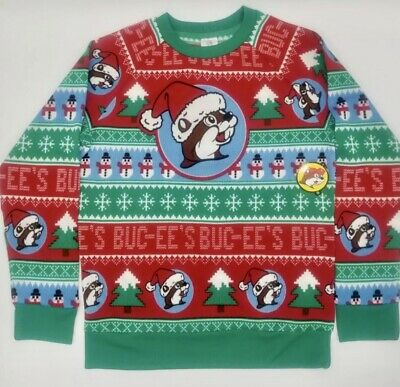 $55 • Buy NEW 2020 Bucee's Christmas Sweater 2020 Unisex XL FREE SHIPPING
