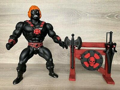 $62.70 • Buy Giant Anti-Eternia He-Man 11  2up! Masters Of The Universe Lot Of Figure/weapons