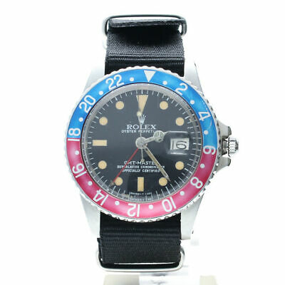 $ CDN39903.60 • Buy Rolex GMT-Master Stainless-steel 1675 Black Dial Men's Automatic-self-wind Watch