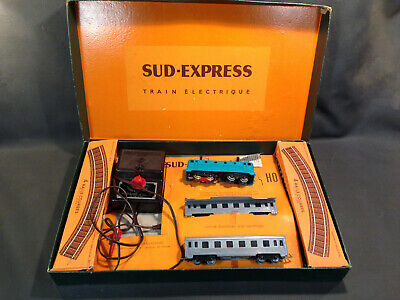 AU297.37 • Buy Old Boxset Toy Train Electrical Jouef South Express Locomotive SNCF Wagons