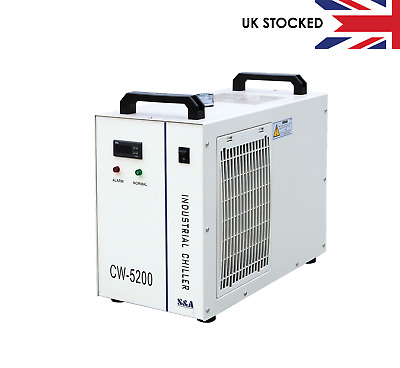S&A Water Chiller CW-5200 - UK Authorised Agent For CO2 Laser, CNC, UV Laser • 495£