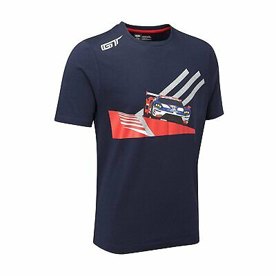 £37.97 • Buy Ford GT Performance Men's Car T-Shirt Blue Size S NEW