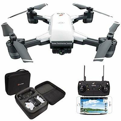 AU301.72 • Buy Drone RC Quadcopter Drones With 2K Camera For Adults, HD 120° Wide-Angle, GPS