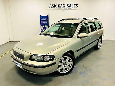 Volvo V70 Se, October 2021 Mot, Leather Seats, Great History, Manual Gearbox!! • 2,495£