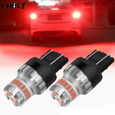 $11.89 • Buy 7440 7443 T20 Red LED Strobe Flash Brake Tail Lights Parking Bulbs Fit Chevrolet