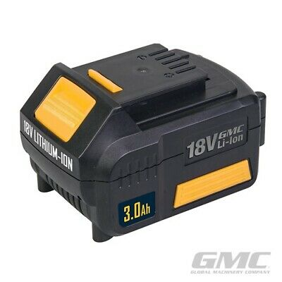 Gmc 18v 3ah Li-ion High Capacity Battery Replacement/ Spare For 18v Core Tools  • 20.99£