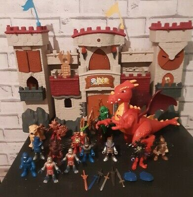 Imaginext Castle With Accessories Lights And Sounds • 50£