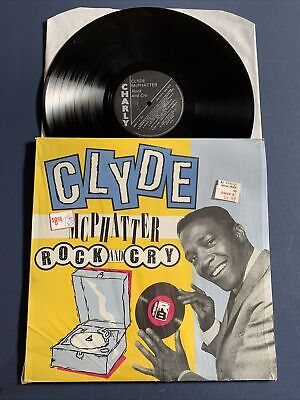 £6.92 • Buy CLYDE MCPHATTER Rock And Cry LP Vinyl EX