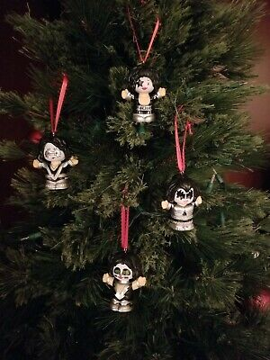 KISS Ornament Ace Frehley Peter Criss Paul Stanley Gene Simmons • 18.40£