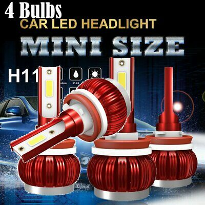 AU25.48 • Buy 2X H8/H9/H11 260W 26000LM LED Headlight Globe Beam Bulbs 6500K White High Power