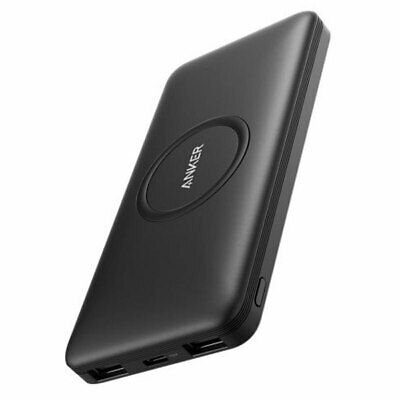 AU129.95 • Buy Anker A1615T11 PowerCore Hybrid Wireless Portable Charger