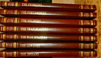 £23.39 • Buy Time-life Books The Old West 7 Volumes, Cowboys/indians/soldiers,hardcover 1974