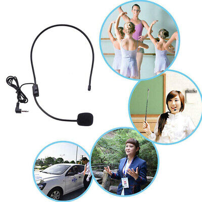 3.5mm Stereo Wired Headset With Mic Microphones Headphone For Laptop Desktop UK • 4.21£