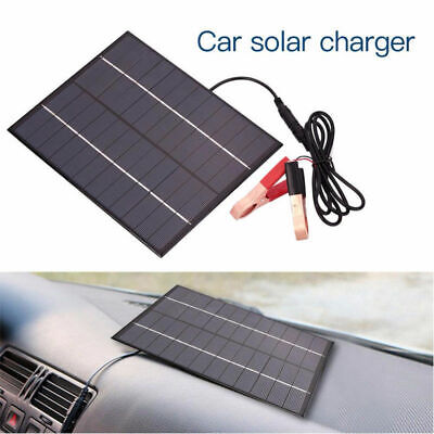 5.5W 12V Car Boat Auto Camp Solar Panel Power Module Battery Charger Motorcyclek • 12.97£